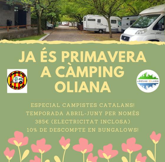 Oferta primavera Campistes Catalans